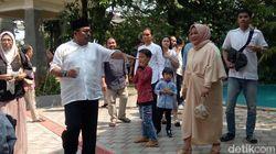 Mengintip Suasana Halal Bi Halal Keluarga Si Doel di Rumah Rano Karno