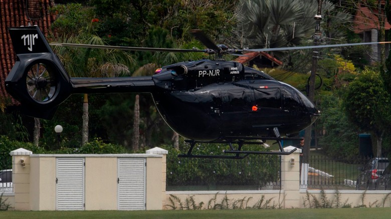 Helikopter milik Neymar (AFP)
