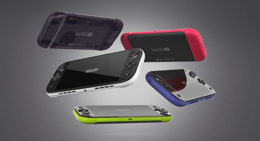Olivier Raymond, demikian nama sosok di balik kreasi konsep Nintendo Switch anyar ini. (Foto: Dok. Olivier Raymond)