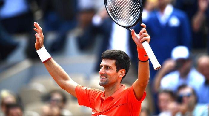 Petenis Serbia, Novak Djokovic, di Prancis Terbuka. (Foto: Clive Mason/Getty Images)