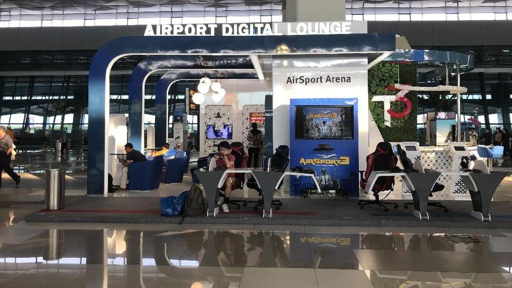 Airport Digital Lounge Manjakan Pemudik di Bandara Soekarno-Hatta