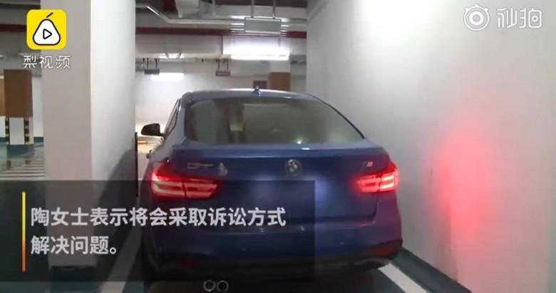 Lahan parkir. Foto: Shanghaiist