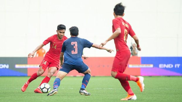 Timnas Indonesia U-23 tercatat hanya sekali mengalahkan Thailand.