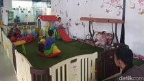 Asyik, PT KAI Sediakan Area Bermain Anak di Stasiun Gubeng