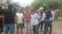 Detik-detik Penangkapan 81 Pelaku Bentrokan dan Pembakaran Rumah di Buton