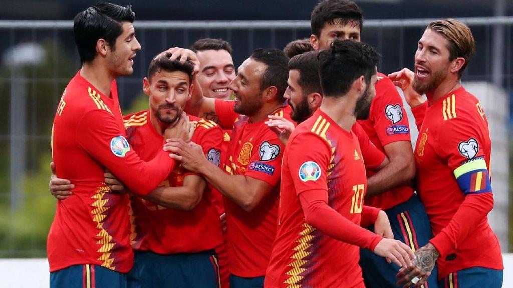 Kepulauan Faroe Vs Spanyol: La Furia Roja Menang 4-1