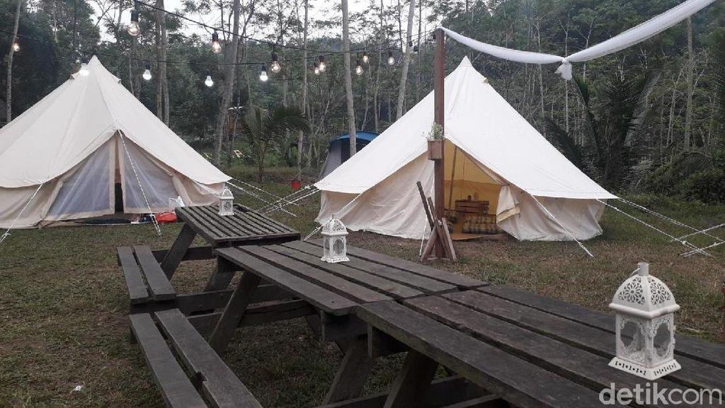 Mudik di Yogyakarta, Coba Camping di Lereng Merapi