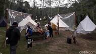 Foto: Camping Mewah di Lereng Gunung Merapi
