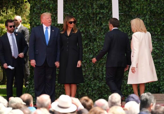 Donald Trump dan Melania Trumo. Foto: Sean Gallup/Getty Images