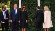 Melania Trump Dihujat karena Pakai Kacamata Hitam di Peringatan PD II