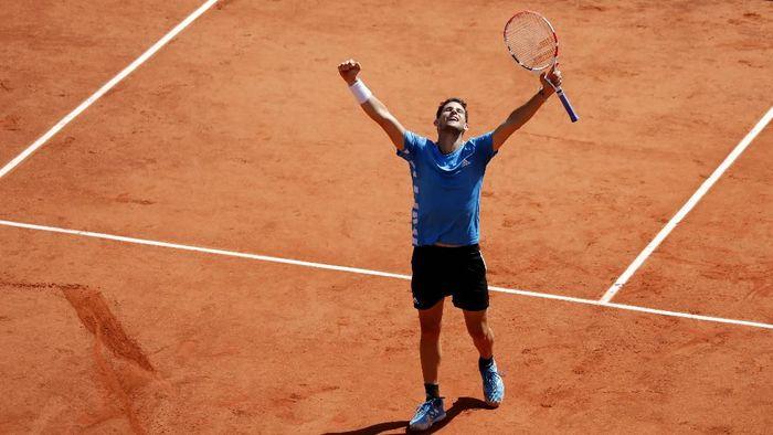 Dominic Thiem melaju ke final Prancis Terbuka 2019 (Charles Platiau/Reuters)