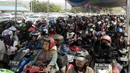 Arus Balik di Pelabuhan Bakauheni Lampung