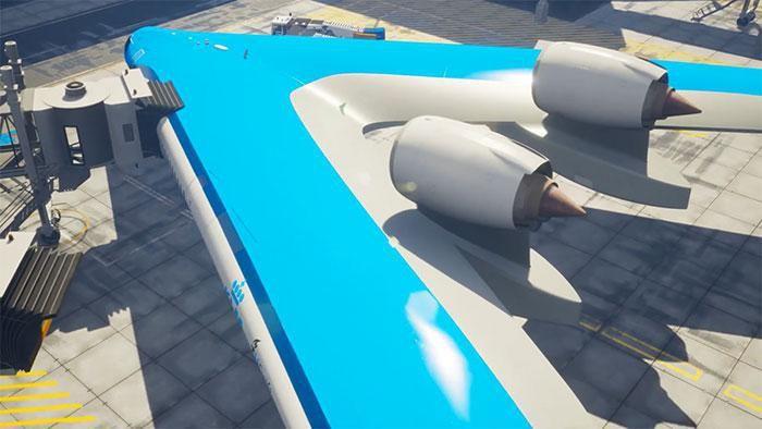 Maskapai Belanda, KLM berkontribusi dalam perakitan prototipe ini.Foto: Dok. Boredpanda/Edwin Wallet Studio OSO