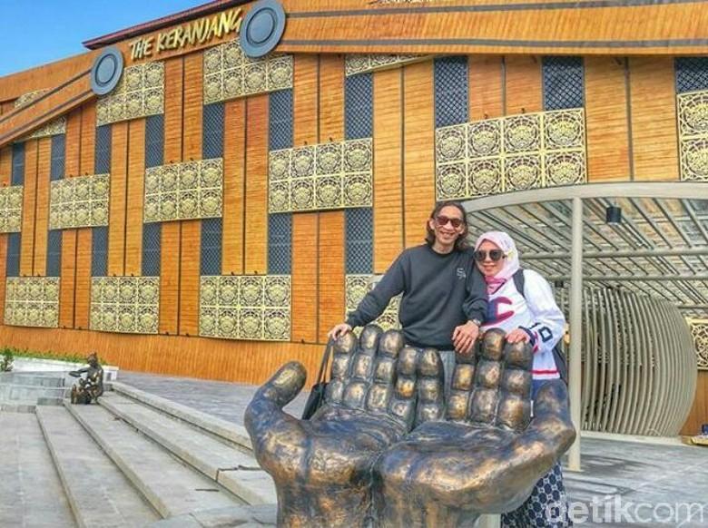 Foto: Melly Goeslaw dan Anto Hoed (Desi Puspasari/detikHOT)