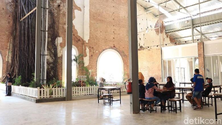Rest Area KM 260B Banjaratma di Brebes (Randy/detikcom)