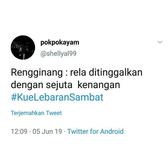 Kue Lebaran Jadi Singkatan Curcol Netizen Ada Yang Cocok Sama Kamu