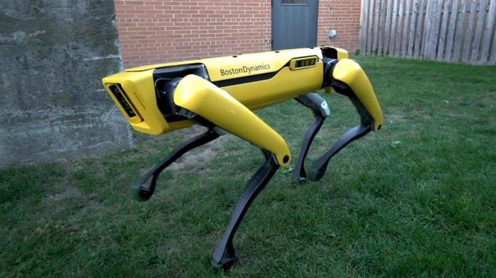 Robot Anjing Boston Dynamics