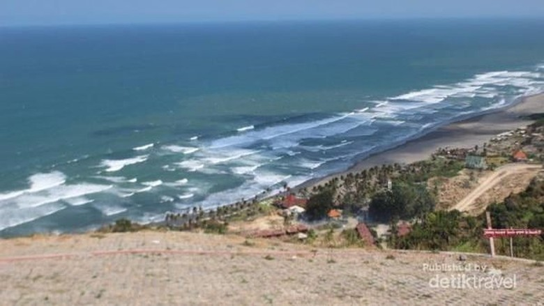 Foto: Ilustrasi Pantai Selatan (Brigida Emi Lilia/dtraveler)