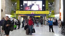 Hingga H+4 Lebaran, 78 Ribu Pemudik Kembali ke Jakarta via Stasiun Gambir