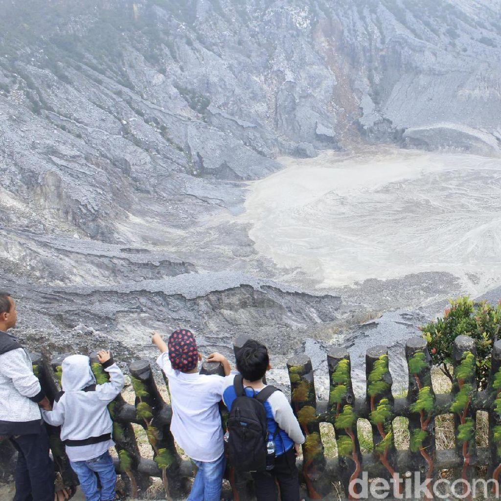 Aktivitas Gunung Tangkuban Parahu Meningkat, Wisatawan Diminta Waspada