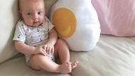 Tingkah Gemas Alaia Moana Saat Makan, Bayi Bule Cantik Marissa Nasution