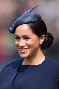 Meghan Markle di acara Trooping the Color.