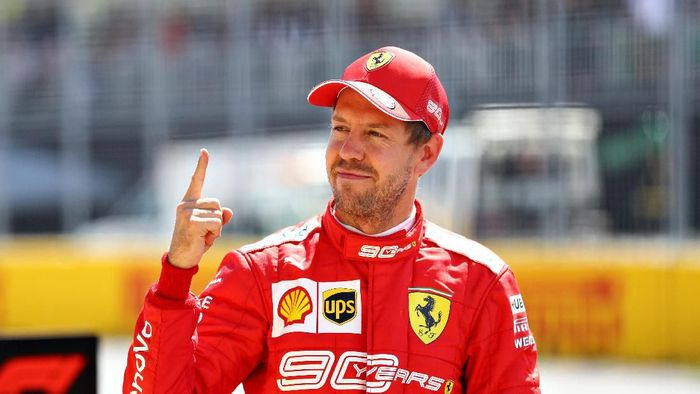 Sebastian Vettel pole di GP Kanada (Mark Thompson/Getty Images)