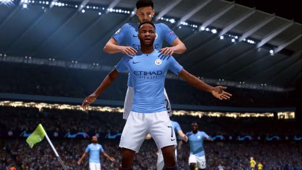 Dalam trailer tersebut, tampak ada Raheem Sterling yang kerap muncul di berbagai kesempatan. Foto: YouTube/EA SPORTS FIFA