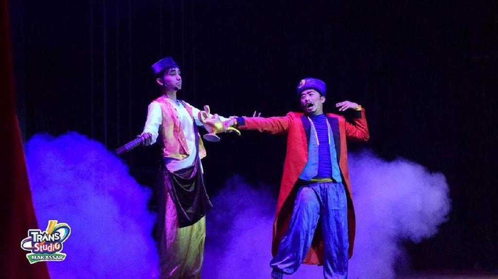 Aladdin Hadir di Trans Studio Theme Park Makassar