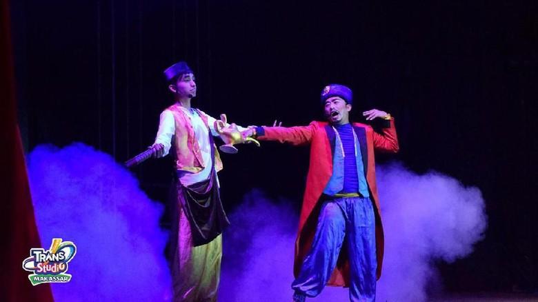 Drama musikal Ali dan Lampu Ajaib (dok Trans Studio Makassar)