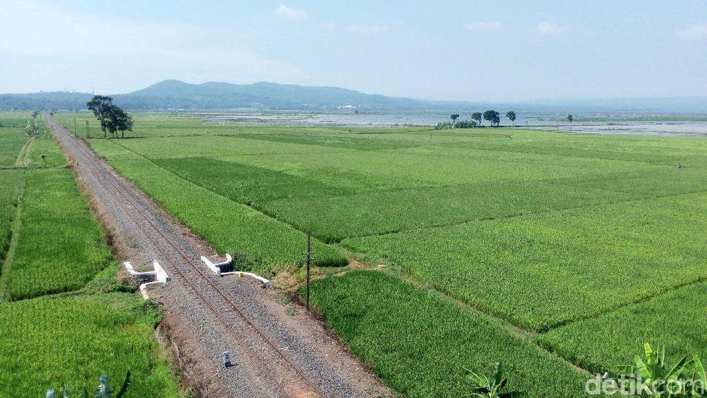 Terpesona Indahnya Pemandangan di Jalur Lingkar Ambarawa