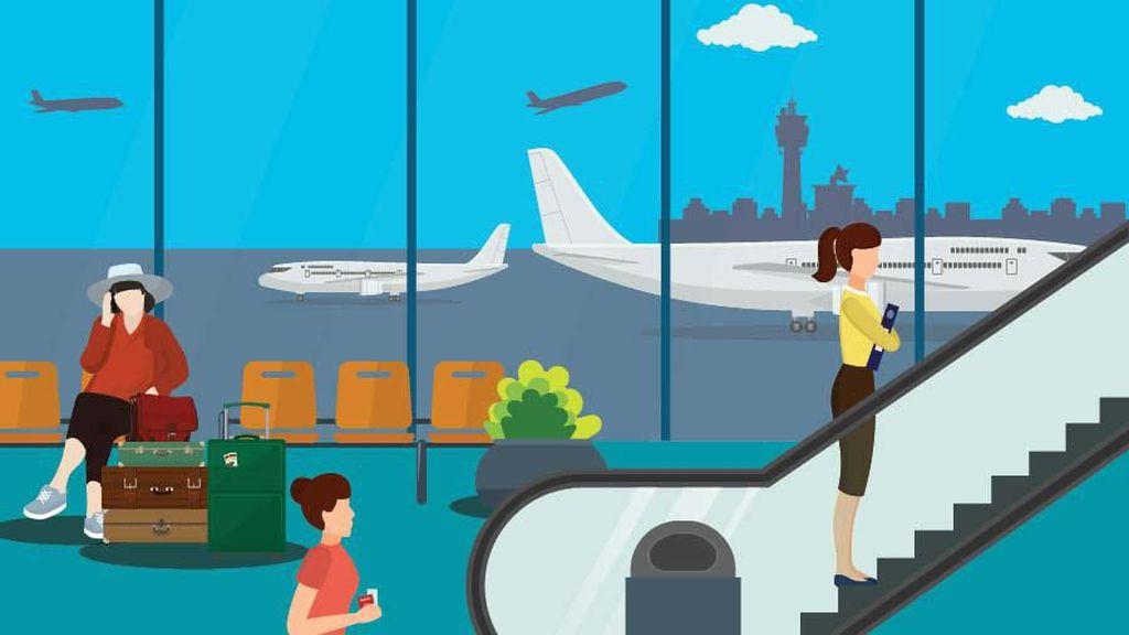 Terminal 1 dan 2F Bandara Soetta Tak Beroperasi, Ini Sebabnya