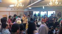 Cerita Hangat dan Serunya Open House Dubes Tantowi di KBRI Wellington