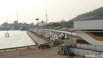 Arus Balik, Pemudik dari Sumatera Terus Berdatangan di Pelabuhan Merak
