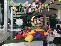 Warna-warni Islami Meriahkan Bandara Soekarno-Hatta Saat Mudik