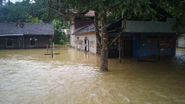 Banjir di Sempaja Timur.