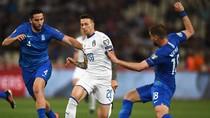 Italia Bungkam Yunani 3-0 di Kualifikasi Piala Eropa 2020