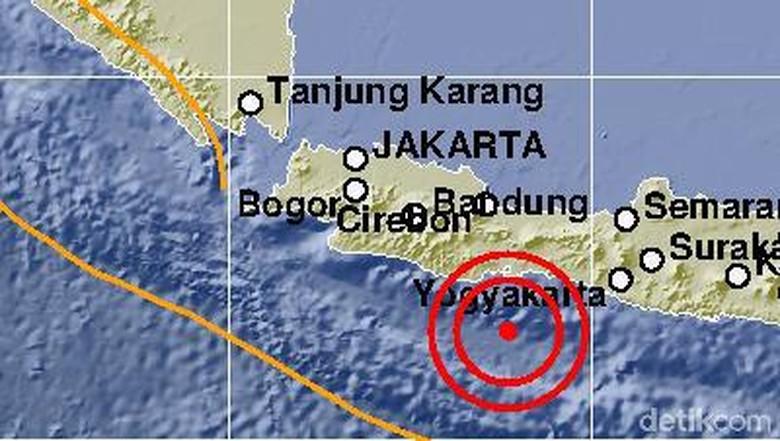 Gempa Cilacap Terasa hingga Pangandaran, Wisatawan Tak Terganggu
