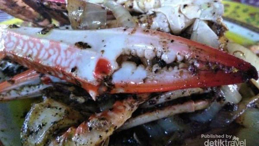 Icip-icip Seafood Segar di Kampung Nelayan Kepri