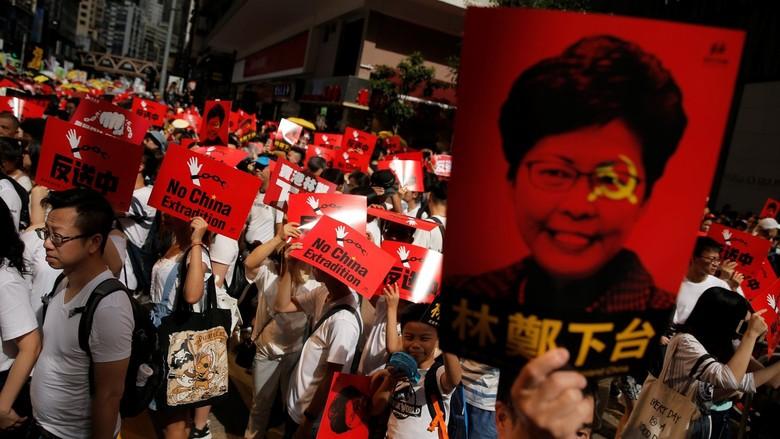 Tentang Demo Tolak Ekstradisi ke China yang Digelar Warga Hong Kong