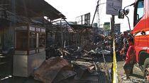 Kebakaran Hanguskan Pasar Ujungberung di Bandung