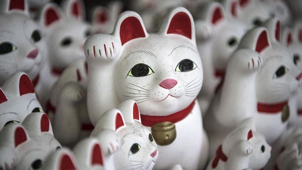 Maneki Neko, Si Kucing Pembawa Keberuntungan dari Jepang