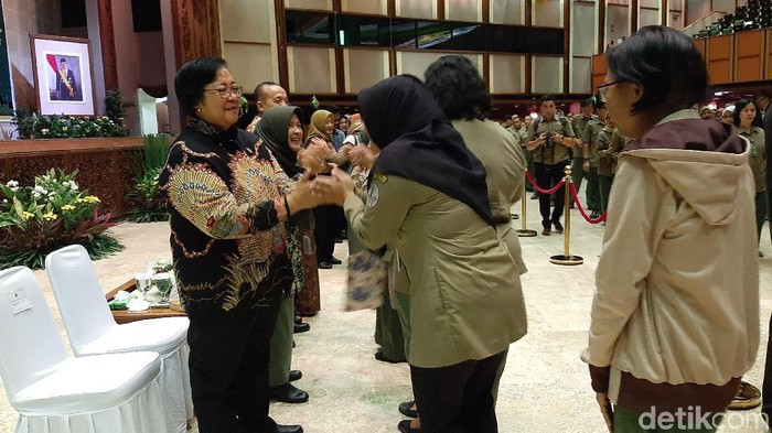 Halalbihalal di Kementerian LHK (Foto: Lisye)