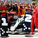 Kesalnya Vettel, Finis Pertama tapi Gagal Jadi Juara