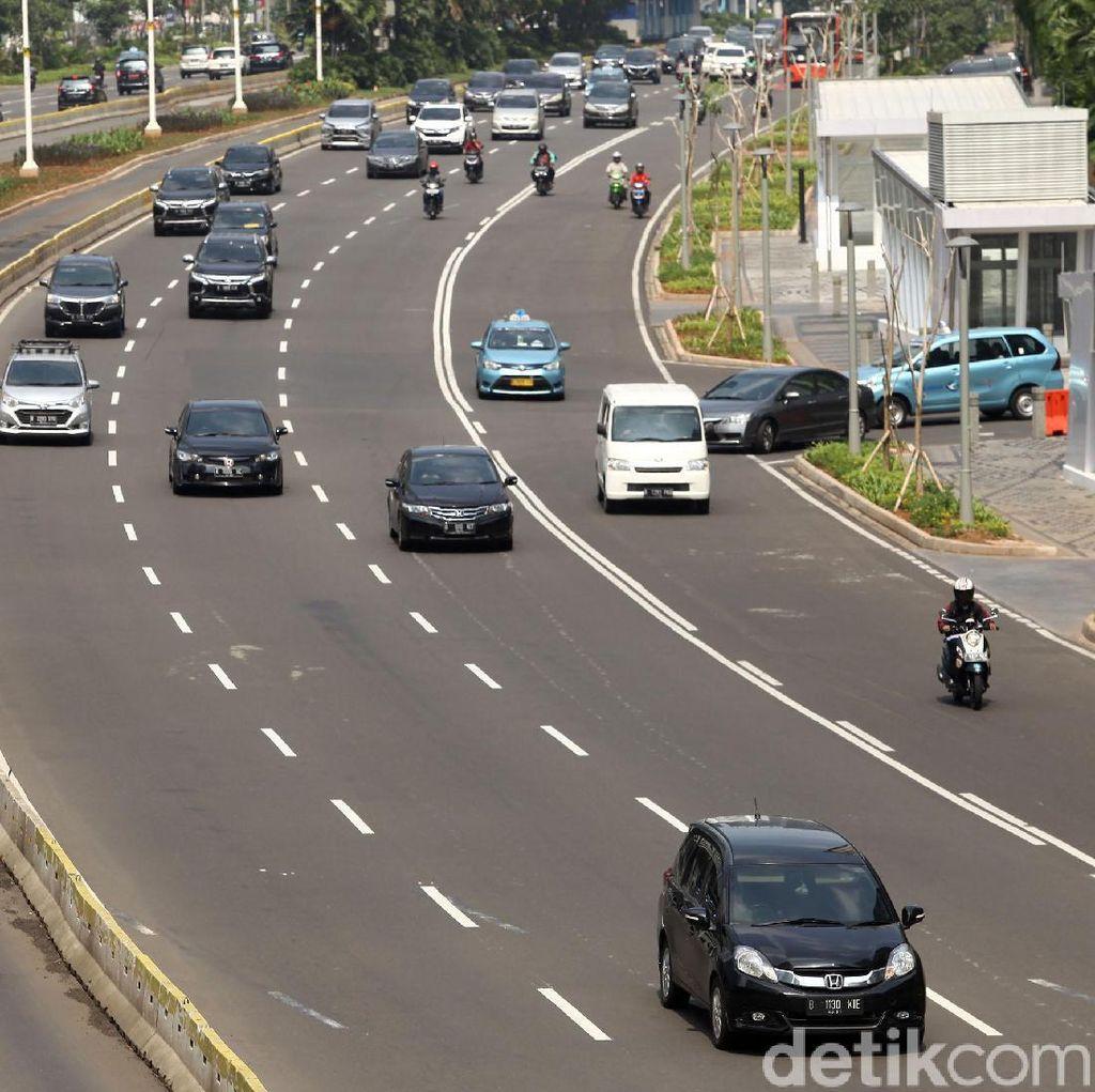 Pemotor Dikasih Jalur Khusus di Jakarta, Sudah Disiplin?