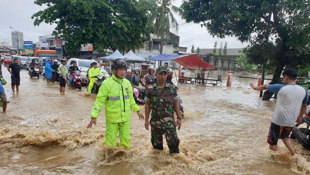1.452 KK Terdampak, Banjir di Sidrap Sulsel Mulai Surut