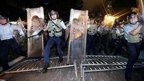Bentrokan Meletus Usai Demo Besar di Hong Kong