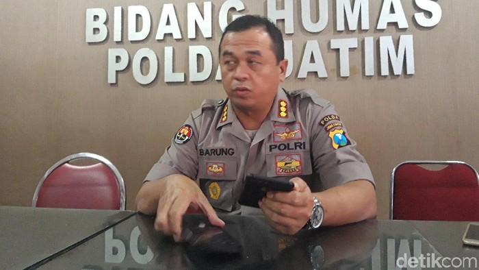 Kabid Humas Polda Jatim Kombes Frans Barung Mangera (Foto: Hilda Meilisa Rinanda)