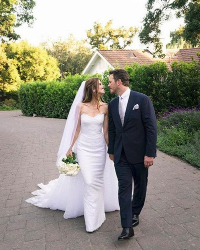 Chris Pratt dan  Katherine Schwarzenegger resmi menikah. Foto: Instagram Chris Pratt