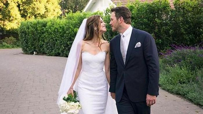Chris Pratt dan Katherine Schwarzenegger menikah.